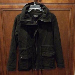 POL black utility Jacket sz small